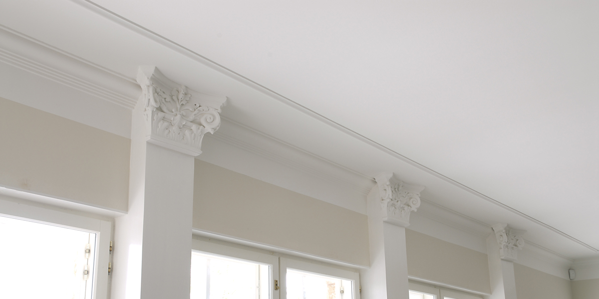 Durable ceiling surface.