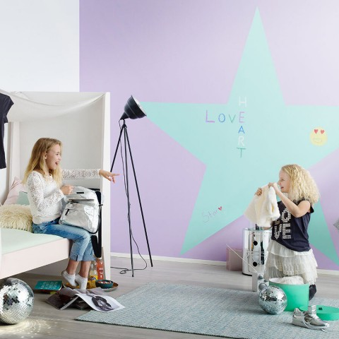 Idea for kids' room: stars